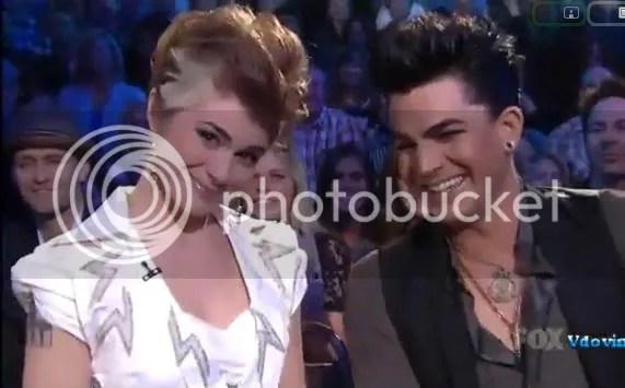 Siobhan Magnus and Adam Lambert