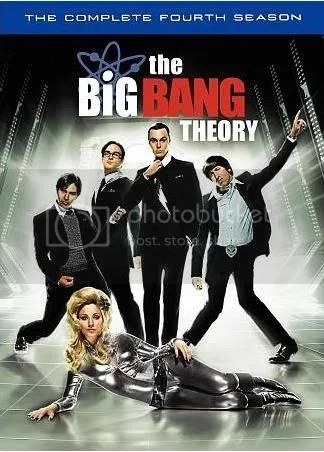 The Big Bang Season 4 dvd