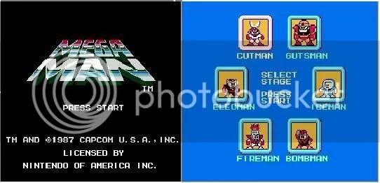 Megaman 1! beeeeem simples