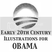 Early 20th Century Illustrations for Obama - PNG