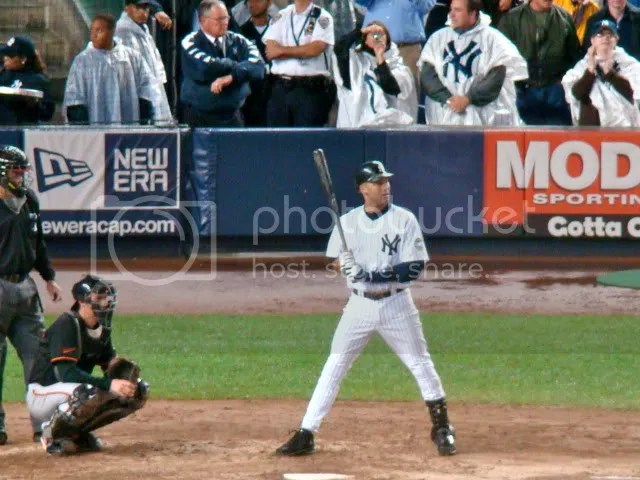 Jeter's record-breaking at-bat