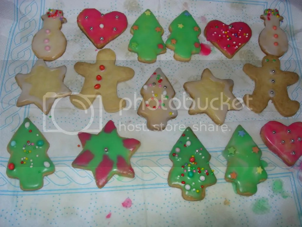 biscotti di natale e shortbread