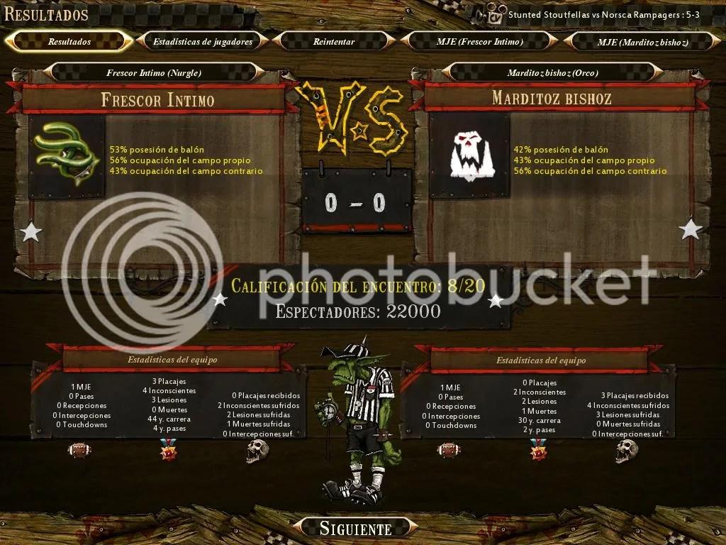 Nurgle VS Orcos