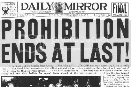 End Of Prohibition