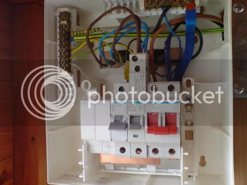 Rcd Consumer Unit Wiring Diagram
