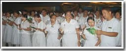 capping of ncf nurses