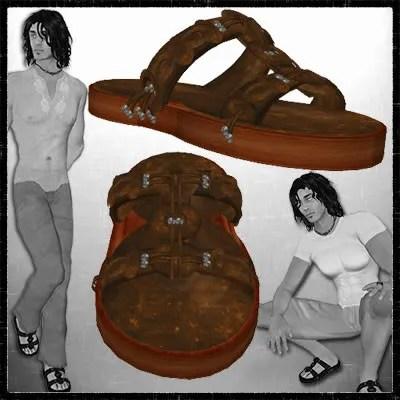 Boho Sandals brown