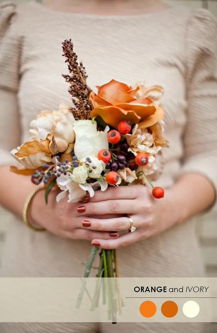Autumn Wedding Palette