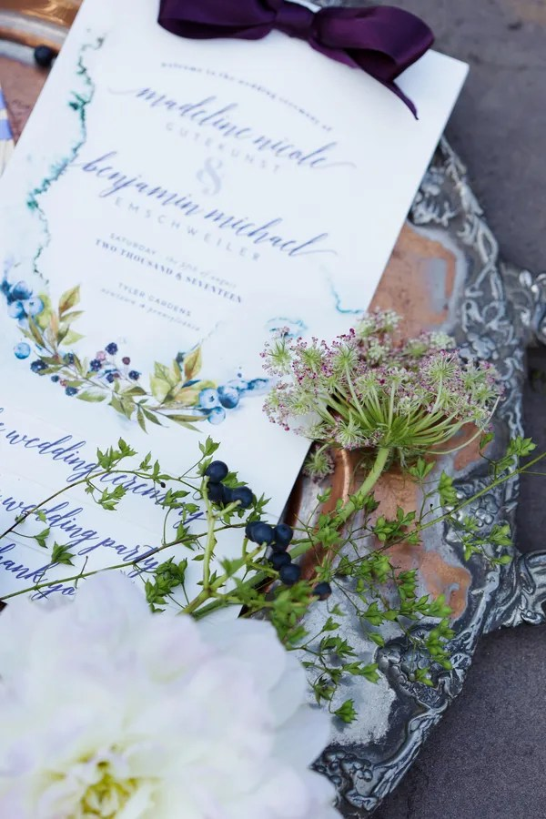 Autumn Garden Elopement