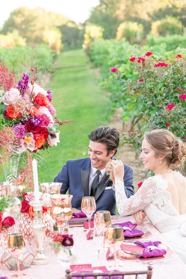 A Tuscan Love Story In The Vines The Perfect Palette