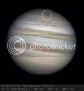 Impact on Jupiter?
