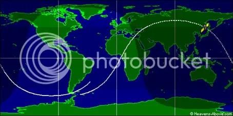 USA 193 orbit