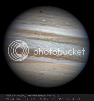 Jupiter impact?