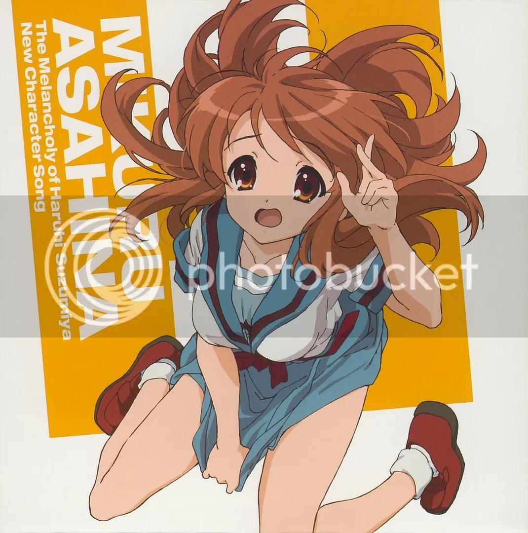 Asahina Mikuru (CV: Gotou Yuuko)