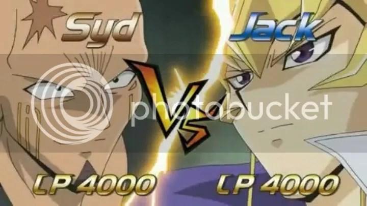 The obligatory VS screen! Jack vs Syd!