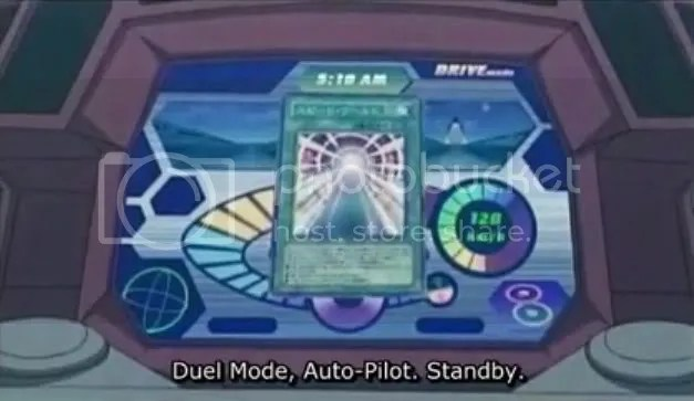 Speed World 2, being used by Yusei.