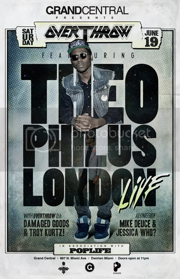 THEOPHILUS LONDON LIVE