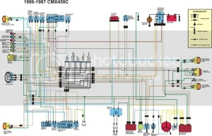 Honda rebel 250 electrical schematic