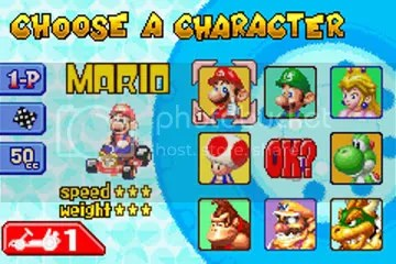 Select your character The Top 20 Game Boy Games of All Time: #15-11 The Top 20 Game Boy Games of All Time: #15-11 12MarioKartCharacterSel
