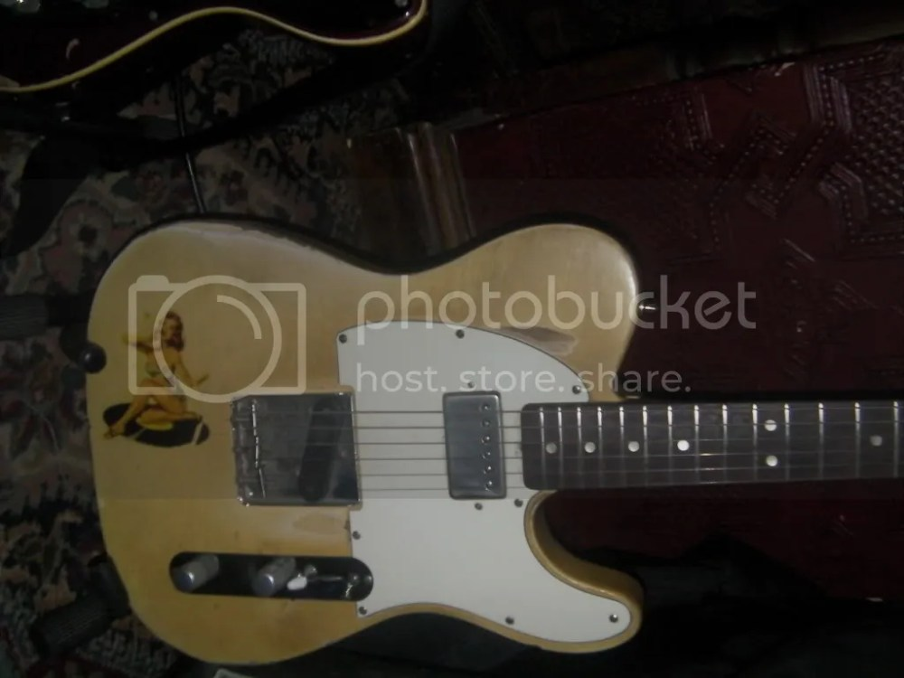 Joanne Shaw Taylor's guitar setup (2/4)