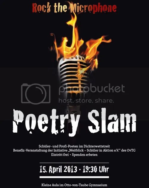 Poetry Slam - Benefizaktion