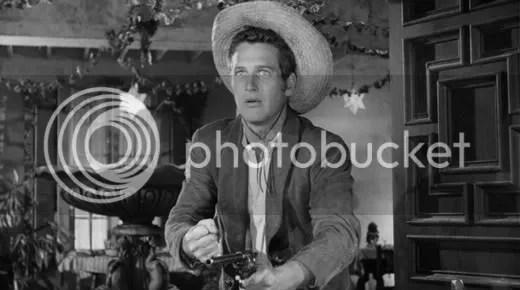 Paul Newman as the Kid.