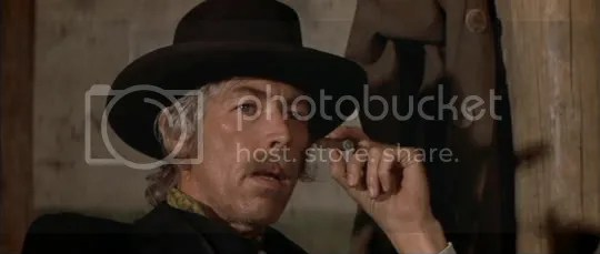 Changing times - James Coburn as Pat Garrett.
