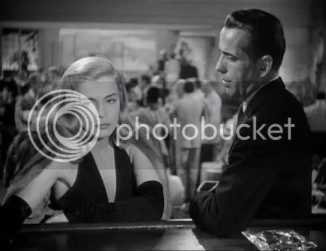 Lizabeth Scott & Humphrey Bogart in Dead Reckoning.