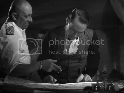 Right under their noses - Erich von Stroheim & Franchot Tone