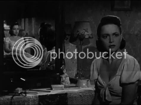 Two for the price of one - Olivia de Havilland in The Dark Mirror.