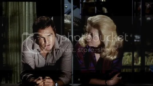Burt Reynolds and Catherine Deneuve - looking for a way out.