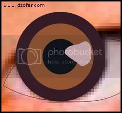 bola mata warna