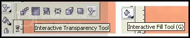 transparency dan fill tool