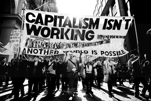 Capitalism isn't working in black & white