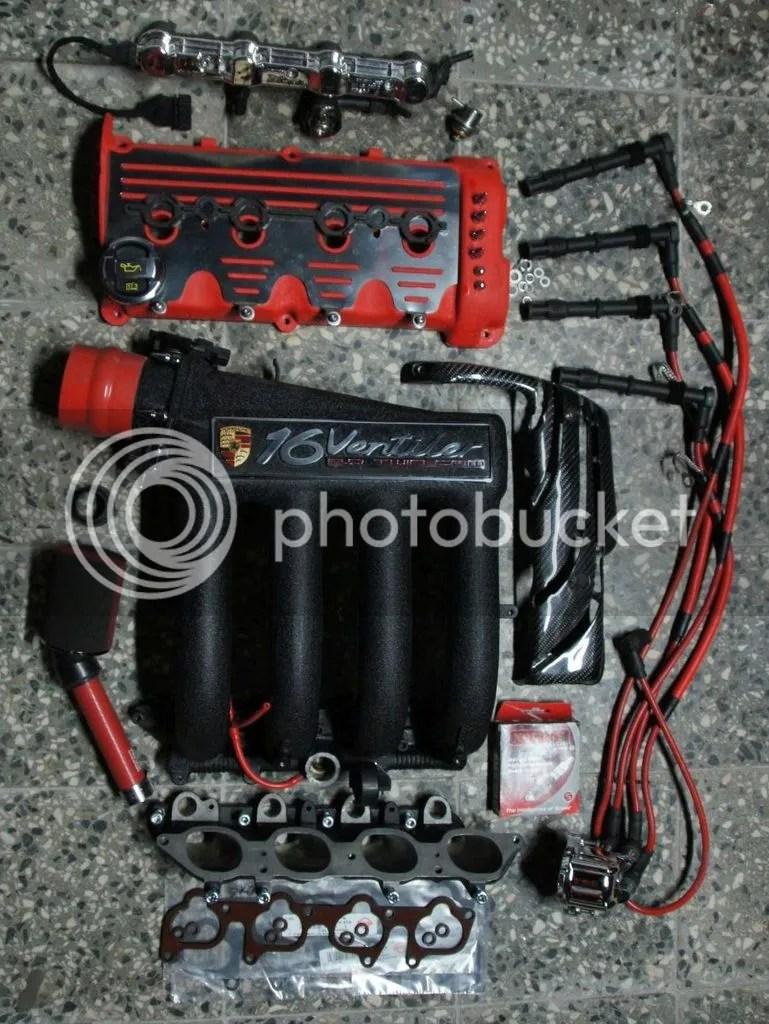 16 Vw Engine Valve Abf 800hp