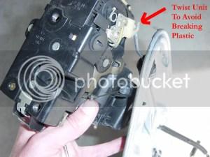 DIY Rear Door Disassembly and Lock Mechanism Repair (for