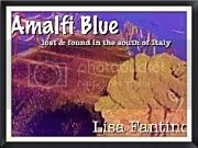 Amalfi Blue by Lisa Fantino