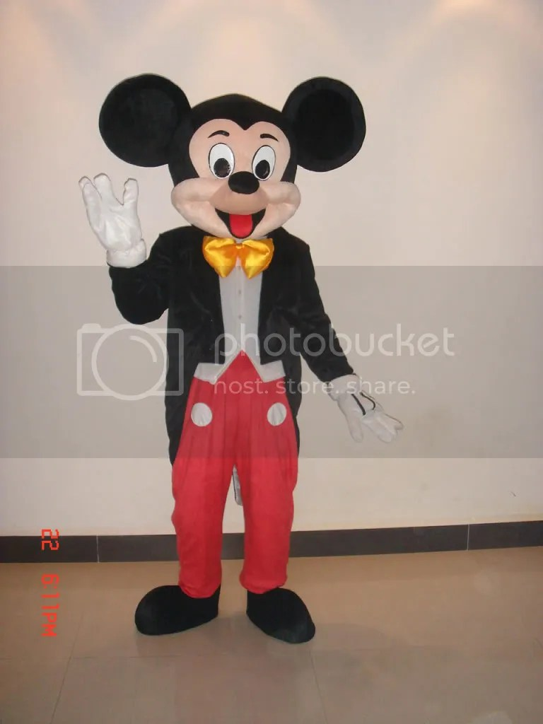 Hi, Im Mickey Mouse, and Im here to vote!