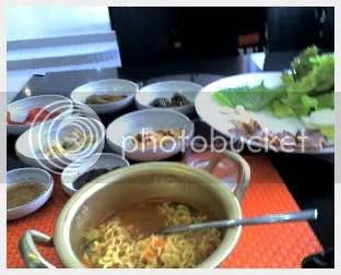 the korean spread