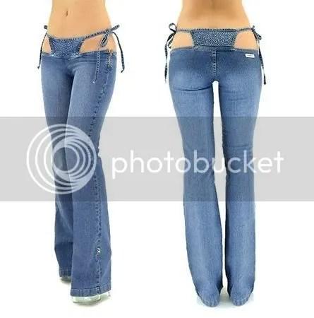Crazy New Bikini Jeans