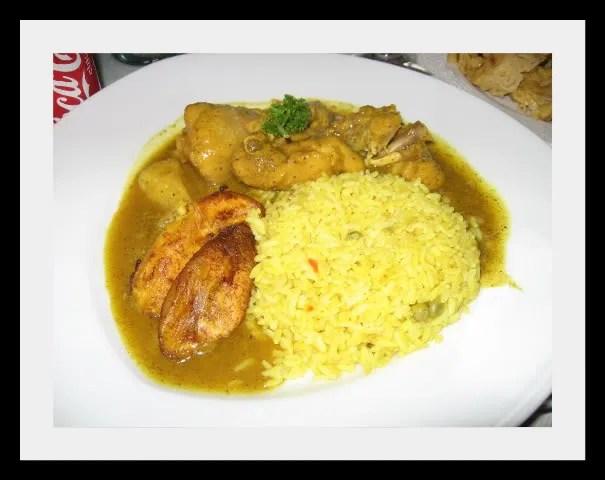 Addie's Curry Chicken