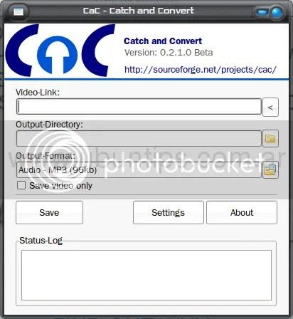 CaC, Ubuntu, descargar desde Youtube