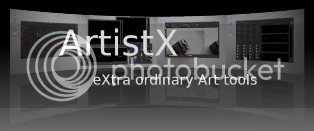 home_page ArtistX 0.6 - La distribución para el artista