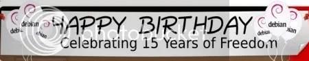 ubudeb Debian - 15 años de libertad