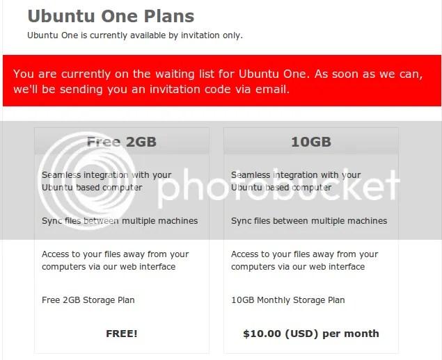 ubuntu one Ubuntu One   Servicio de sincronización de Canonical
