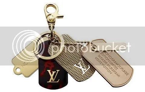 Louis Vuitton Bag Charm Monogramouflage