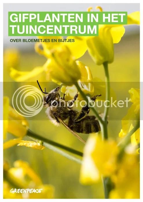 Greenpeace rapport Gifplanten in het tuincentrum