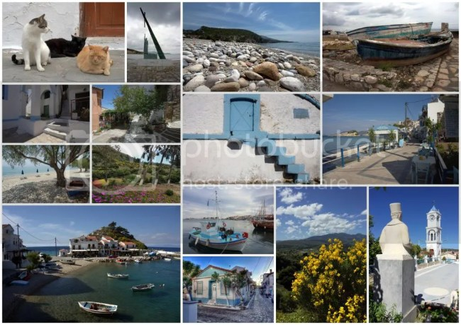 collage van Samos