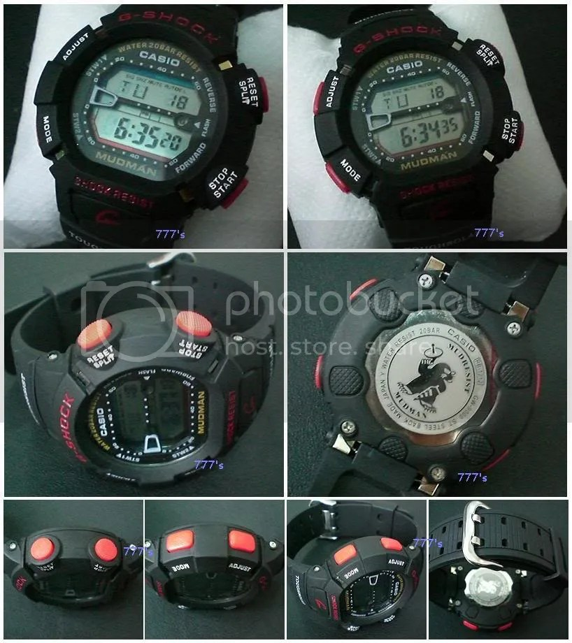 How to Spot a F... G Shock Mudman G9000