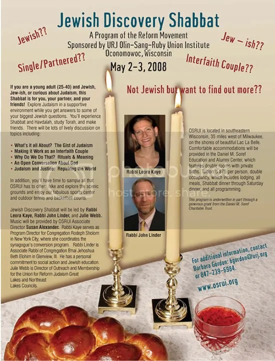 Jewish Discovery Shabbat